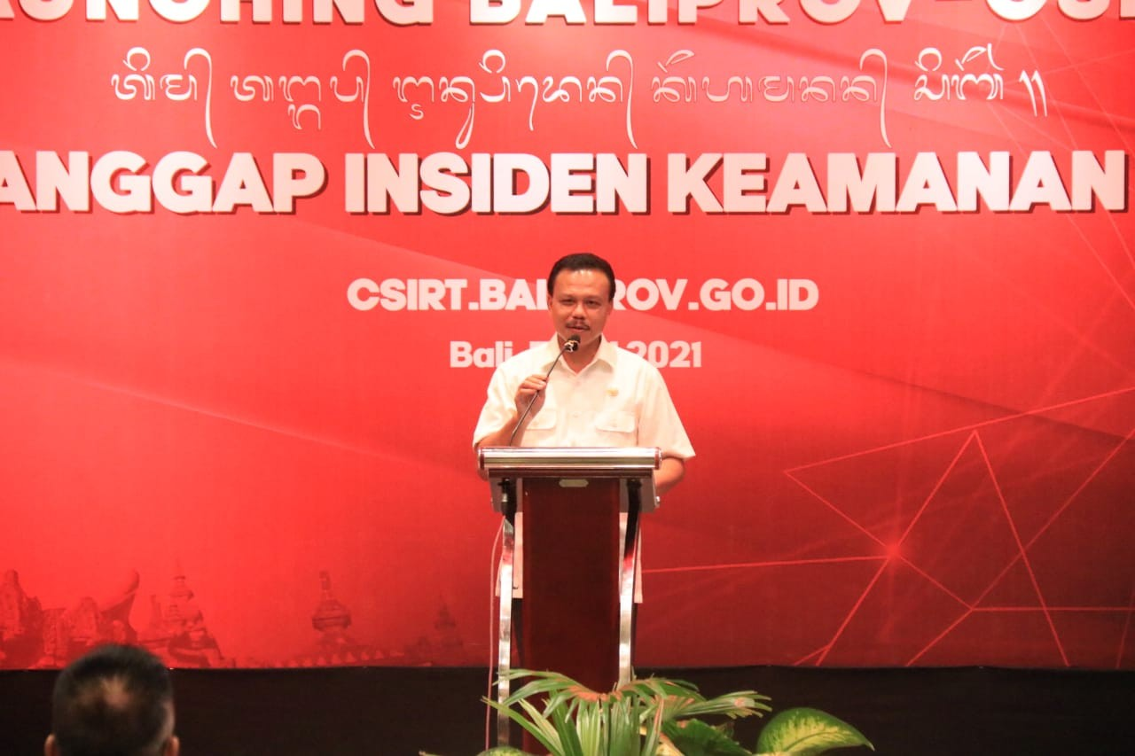Waspada Ancaman Siber, Pemprov Bali Luncurkan BALIPROV-CSIRT