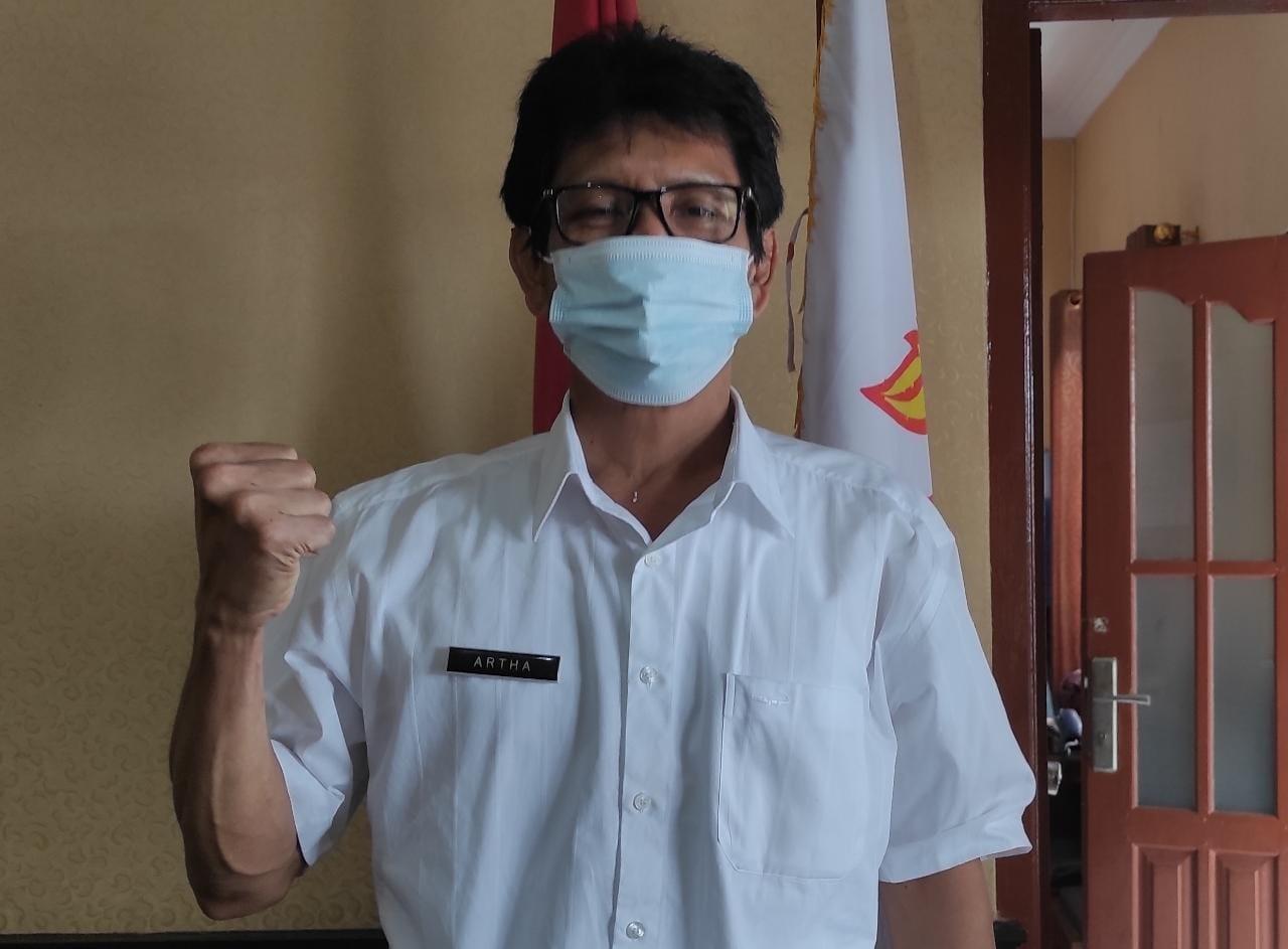 Ketua KONI Buleleng Artha Widnyana Minta Atlet Latihan Mandiri, Menyusul PPKM Darurat