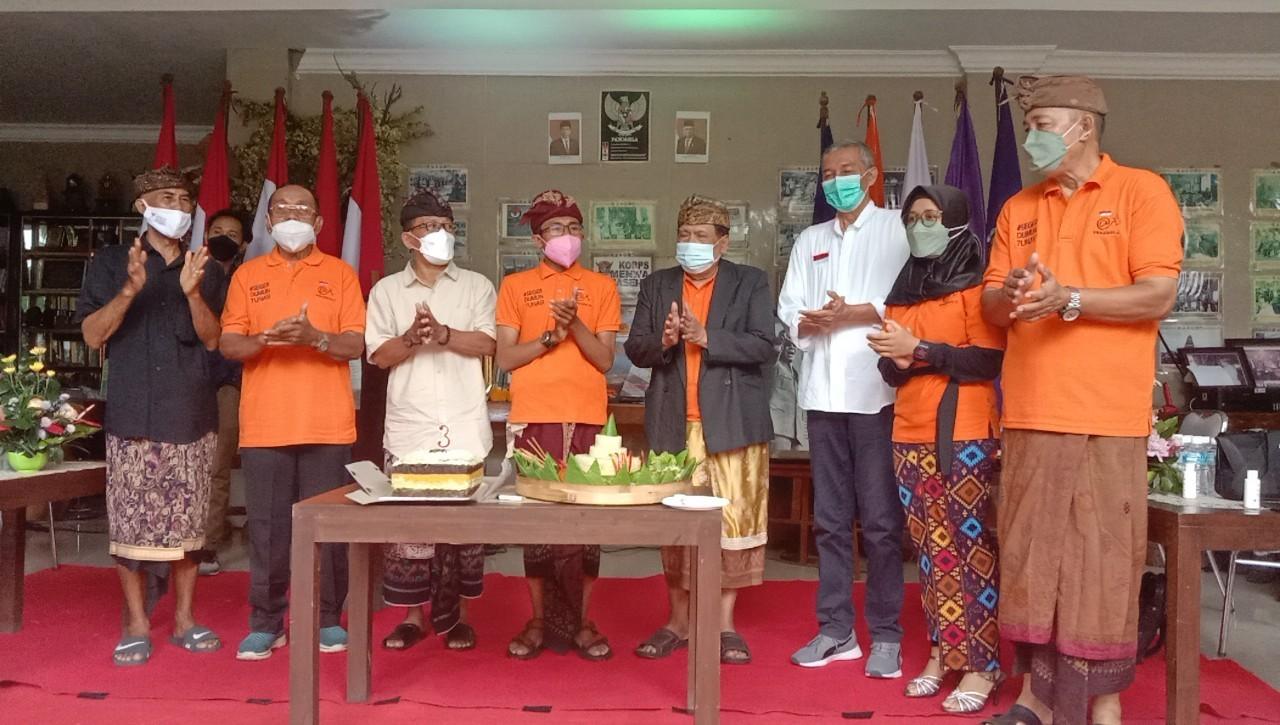 Puncak HUT III Atnews, Doa Bersama dan Penyerahan Hadiah Pagelaran Seni dan Budaya